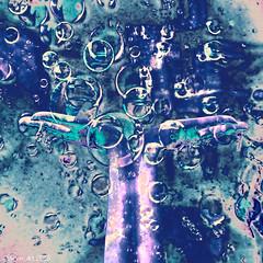 Dream catcher (Lemon~art) Tags: hands bubbles dreams dreamcatcher blue green texture manipulated