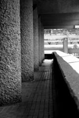 London: the Barbican (Barbara Chandler) Tags: barbican cityoflondon brutalistarchitecture