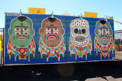 Coney Island - Coney Art Walls: Kashink (wallyg) Tags: brooklyn coneyartwalls coneyisland kingscounty mural newyork newyorkcity ny nyc streetart