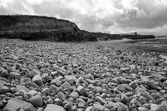Its Not All Doom And Gloom (Joshua Maguire Photography) Tags: landscape fine art travel hiking adventure nature texture beach kilve somerset stone cliff rocks