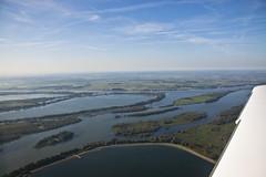 Biesbosch (Dimormar!) Tags: luchtfoto nederland biesbosch natuur driehoeksvlucht defensie brabant