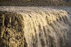 Dettifoss Falls and Gorge (Matt Champlin) Tags: danger amazing incredible water waterfall dettifoss iceland travel torrent loud roaring gorge people tourists adventure camping hiking roadtrip summer exotic canon 2016