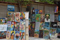 Haitian paintings for sale at the Artisan's Village in Labadee Labadie Haiti (RYANISLAND) Tags: haiti port labadee labadie republicofhait irpubliquedhati repiblikayiti ayiti hatihayti haitian haitiancreole creole portauprince hispaniola greaterantilles antilles sovereignstate caribbean caribbeanisland caribbeanislands island islands caribe beach royalcaribbean saintdomingue haitianhistory haitihistory visithaiti hati hayti republicofhaiti rpubliquedhati