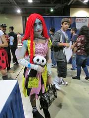 Sally (rpepperpot) Tags: longbeachcomiccon comiccon cosplay sally nightmarebeforechristmas tim burton