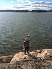 Meloskelua @ Espoon Korkeasaari. (neppanen) Tags: sampen discounterintelligence kajakki kayak paddling melonta vesill korkeasaari espoo saari island hgholm esbo