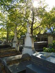 Tombs @ Montparnasse cemetery @ Paris (*_*) Tags: paris france europe city autumn fall montparnasse sunny cemetery tomb cimetiere