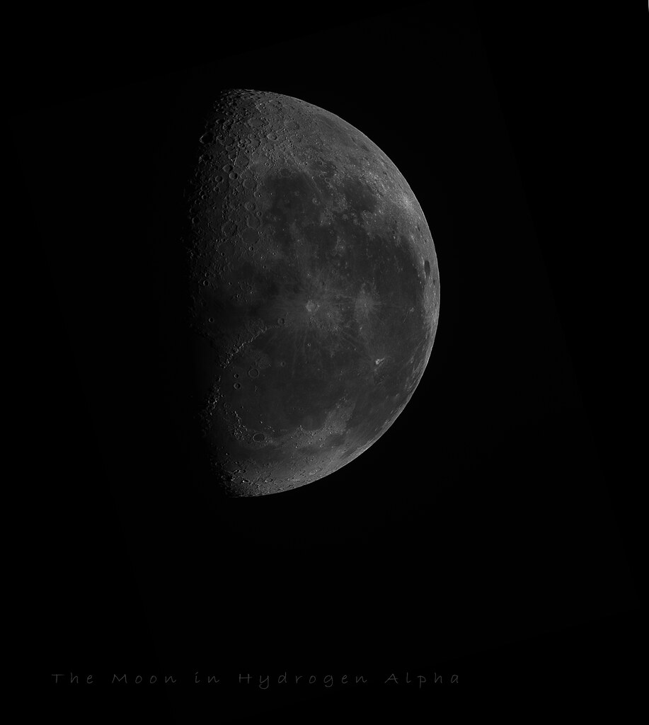The Worlds Best Photos Of Half And Lunar Flickr Hive Mind Niion Running Black Moon In H Alpha Aenima Tags Mono Astronomy Astrophotography