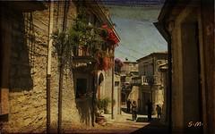 Montalbano Elicona (Messina) (Laralucy) Tags: borgo montalbanoelicona sicilia architettura paesaggio elaborazione texture