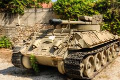 Self Propelled Gun (2) (maskirovka77) Tags: israeldefenseforces idf museum idfmuseum tanks m48 outdoors hdr armoredcar artillery antiaircraft armoredpersonnelcarrier bridgingequipment