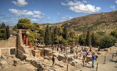 The Palace of Knossos, Crete (neilalderney123) Tags: 2016neilhoward knossos crete landscape history historical archeology olympus 2016neilhoward
