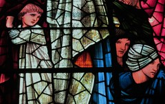 The Last Judgement (detail) (bitsofalife) Tags: birmingham stchadscathedral burnejones stained glass