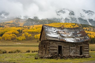 Clearing Autumn Storm - Crested Butte, CO