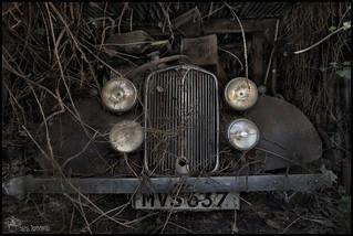 Abandoned Car Garage (C) (Explore'd)