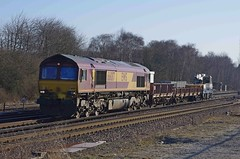 66017 worting 31/03/2013 (Offroadanonymous) Tags: 66017 worting