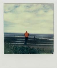 Pacifica, CA (Justin Goode) Tags: california film beach project polaroid coast instant society pacifica impossible