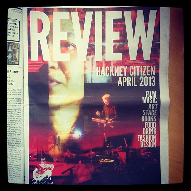 SuperEverything* features a full page in Hackney Citizen!