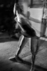 ... We Move Lightly... (UBU ♛) Tags: noiretblanc blues silvia biancoenero ©ubu unamusicaintesta bluubu luciombreepiccolicristalli