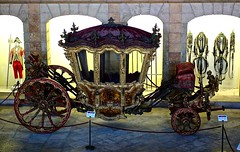 King D. Joao V Coach (18th Century) (pedrosimoes7) Tags: art portugal car museum painting design coach wheels transport cc belem coche transportation creativecommons woodcarvings artcraft madeinportugal meansoftransport coachmuseum maravilhasdeportugal capturedimages blinkagain creativephotocafe arlland