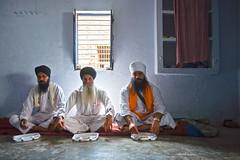 Langar (Shubh M Singh) Tags: life road india men ji rural 1 three highway village grand number trunk priest sikhs sikh gt baba priests natonal haryana ambala preists granthi shahbad markanda dinarpur