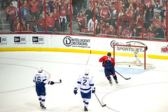 Ovechkin Pots Empty Netter (clydeorama) Tags: usa ice hockey nhl washingtondc dc washington goal tampabay caps icehockey center puck lightning score purcell brewer verizon capitals ovechkin nationalhockeyleague verizoncenter