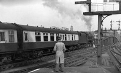 St Pancras Jubilee down Thames Clyde Express c1954 JVol2143 (DavidWF2009) Tags: jubilee londonstpancras