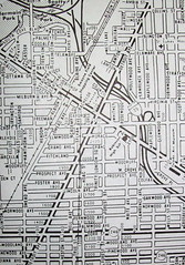 Toledo OH 1972 (davecito) Tags: ohio midwest map ephemera toledo planning transportation cartography 1970s roadmap urbanplanning drafting streetmap citymap oldmap interstate75 northwestohio vintagemap greatlakesregion highwaymap fredjohnsonmaps metrographicarts