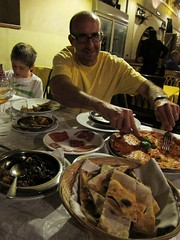 Very VERY good food (peejaybird) Tags: chris italy food rome roma night matthew springbreak 2013 sacroeprofano italy2013
