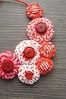 bon bon_003 - Collana Fuxicos (Gioie di Lillò) Tags: necklace knitting crochet jewelry felt feltro collana uncinetto fuxicos