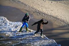 Zinnowitz (rundenreisen.org) Tags: schnee winter sea snow beach strand germany deutschland meer ostsee