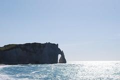 Etretat (Clioeos) Tags: sea cliff mer beach nature mar frankreich normandie campagne francia plage  etretat falaises   morze   francja