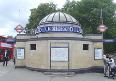 Clapham Common tube station (Tony Worrall) Tags: street city uk travel england people urban london station architecture train buildings underground subway tour district candid south capital tube visit dome clapham claphamcommon built innerlondon claphamhighstreet claphamcommontubestation ©2013tonyworrall