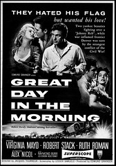 Great Day In The Morning (Harald Haefker) Tags: pictures cinema film promotion vintage magazine ads movie print advertising poster pub kino publicidad reclame ad cine retro anuncio advertisement nostalgia 1950s advert western actor 1956 werbung filmposter publicit magazin reklame affiche publicitario cin pubblicit motionpicture filmplakat schauspieler rclame ruthroman robertstack cinematgrafo celluloide jacquestourneur cinoche virginiamayo skrupellos greatdayinthemorning pubblicizzazione