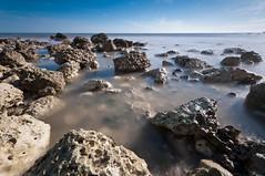 Alien world (James Waghorn) Tags: longexposure light sea england sky beach water reflections nikon rocks alien smooth surreal sigma tranquility calm ultrawide lightroom nisi samphirehoe sigma1020 10stop nd1000 d5000 blinkagain bestofblinkwinners blinksuperstars