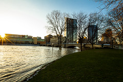 GRAND RAPIDS FLOOD 2013-1337 (RichardDemingPhotography) Tags: flooding flood michigan grandrapids grandriver grandrapidsmichigan floodwater westmichigan downtowngrandrapids puremichigan flood2013 michiganflooding grandrapidsflood