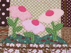case patchwork flores (mariatuiu) Tags: handmade sewing artesanato capa craft case patchwork costura feitoamão capanotebook casenotebook patchapliquê mariatuiu