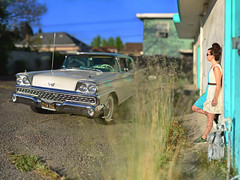 Ford Galaxie 1 (Steven Hight) Tags: nikkor85f14d bokehpanorama 75photos 2013stevenhight