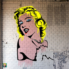 marilyn-04-01 (PASLIER MORGAN) Tags: red streetart dylan art love colors collage wall marilyn rouge army star grafitti you tag culture graph amour hero spock actress iloveyou hendrix mur couleur icone artiste bluesbrother brillant jetaime dutronc diams