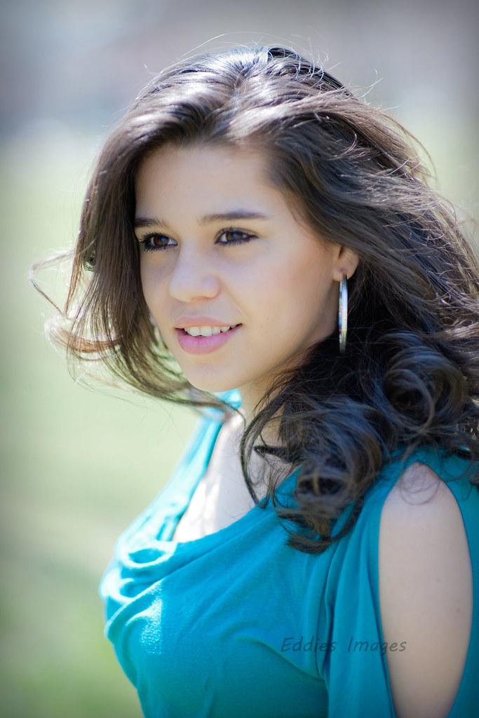 Pretty teen latina