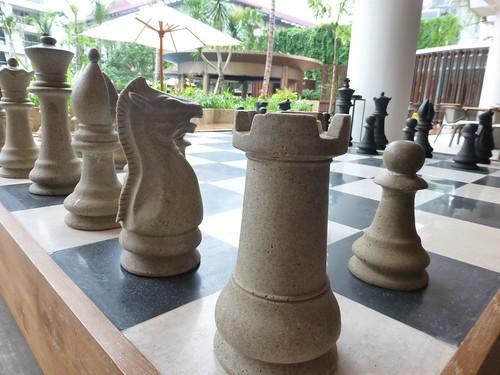 Huge chess 巨型棋盤