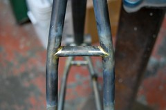 Bridge detail. (mapcycles) Tags: map bicycles cycles randonneur steelman