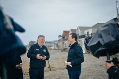 Willie Geist - Morning Joe \ Today & Peter King - New York Republican Congressman (Morning Joe show) Tags: new york morning nikon sandy d800 rockaways vsco