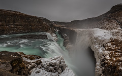 Green Giant (matt_frankel) Tags: snow green ice water rain 30 waterfall iceland nikon long exposure filter nd flowing nikkor gullfoss f28 density neutral 2470mm d600 10stop