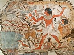 Nebamun chassant les oiseaux (British Museum)