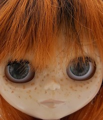 New peepers (Crystalviolin) Tags: eye doll blythe drake adg