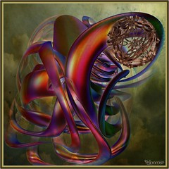 weaving a dream (bloorose-thanks 4 all the faves!!) Tags: abstract art digital 3d render fractal incendia