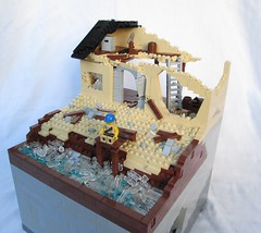 Sittin' On the Dock of The Bay (IronBricks) Tags: house otis lego redding apoc moc ironsniper