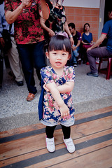 (violin6918) Tags: family blue portrait sky baby cute girl angel clouds zeiss canon children landscape kid scenery pretty child princess daughter taiwan contax adapter manual lovely miaoli vina 2528 distagon d25 littlebaby violin6918 canon5d2  contaxd2528mmj