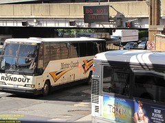 Prevost H3-45 #26 (busdude) Tags: new bus port authority terminal transit jersey charter portauthority mci njt pabt newjerseytransit prevost rondout h345 d000