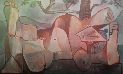 "Majas, homenajes de Francisco de Goya y Lucientes (1802), Eugéne Delacroix (1826), Amadeo Modigliani (1916), Pablo Picasso (1906), (1931), (1959), (1964). • <a style=""font-size:0.8em;"" href=""http://www.flickr.com/photos/30735181@N00/8746853043/"" target=""_blank"">View on Flickr</a>"