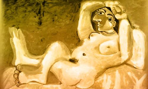 "Majas, homenajes de Francisco de Goya y Lucientes (1802), Eugéne Delacroix (1826), Amadeo Modigliani (1916), Pablo Picasso (1906), (1931), (1959), (1964). • <a style=""font-size:0.8em;"" href=""http://www.flickr.com/photos/30735181@N00/8747973288/"" target=""_blank"">View on Flickr</a>"